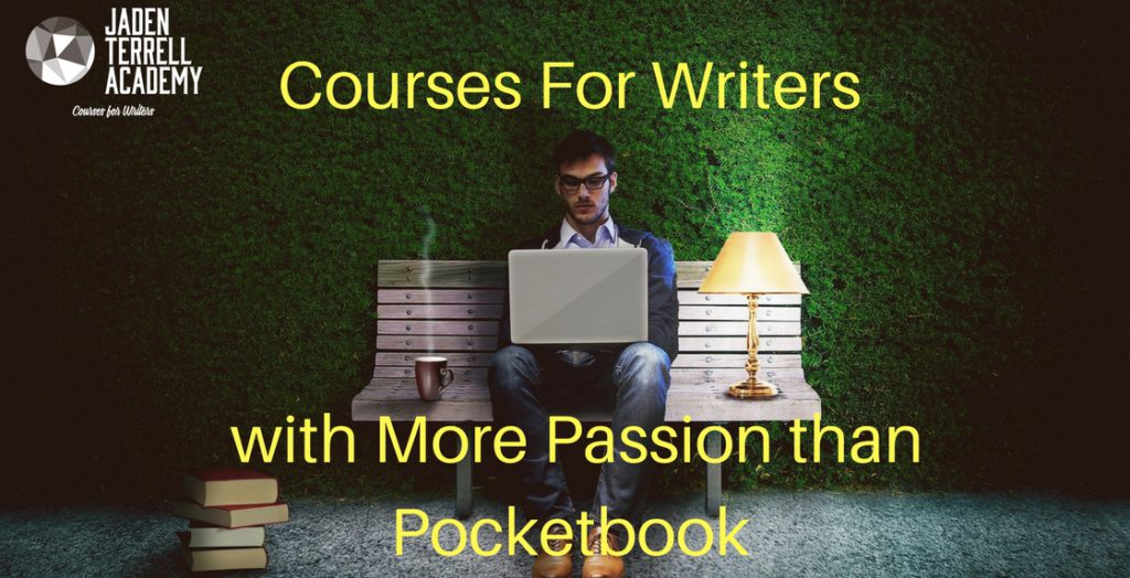 Jaden Terrell Academy: Courses for Writers with More Passion than Pocketbook